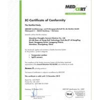 SHENZHEN CHANGKE CONNECT ELECTRONICS CO.,LTD. Certifications