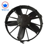 Auto Cooling  Condenser Fan Motor 12 Volt 100Pa Static Pressure Manufactures