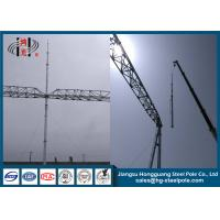 HDG Electrical Power Transformer Substation Steel Structures With AWS D1.1 Standard Manufactures