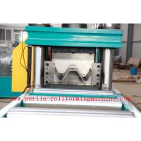 380V , 3 Phase 50Hz Two Wave Guardrail Roll Forming Machine for Highway Guardrails Export to Macedonia Manufactures