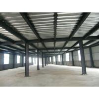 High Strength Garage Steel Frame With Colored Steel Sheet And Frp Lighting Tiles Manufactures