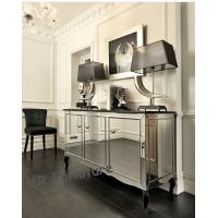 Mirrored Three Door Cabinet for Living Room Buffet Mirror Furniture Set Manufactures