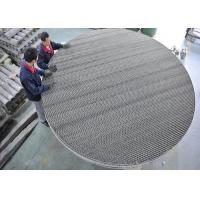 Metal Wire Mesh Structured Packing Column For Desulfurize Tower Packing Manufactures