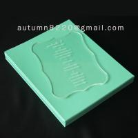 B IC (2) special design acrylic wedding invitation card Manufactures