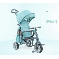 Easy Drag Folding Baby Tricycle Bike High Carbon Steel Frame For Kids Manufactures