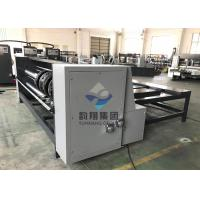 Semi Auto Flat Bed Die Cutting Machine RS4 Rotary Slotter Machine With Chain Feeding System Manufactures