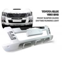 Durable ABS LED Light Front Bumper Guard for TOYOTA HILUX VIGO 2012 - 2014 Manufactures