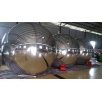 Outdoor 0.8mm PVC Advertising Sliver Inflatable Mirror Ball 3m Diameter Manufactures