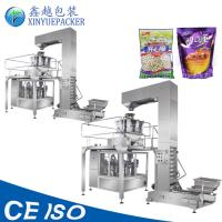 China High Accuracy Rotary Packaging Machine , Easy Operation Snacks Pouch Packing Machine on sale
