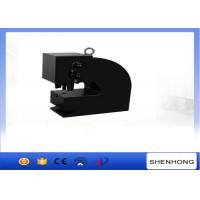China Iron Sheet Hydraulic Hole Punch Machine 100 Ton With Hand Foot / Electric Pump on sale