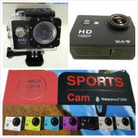 Wholesale Car Dvr Diving Bicycle Camera Professional Mini Digital Camcorder WiFi Action Cameras 1.5inch LCD 1080P  W8 Manufactures
