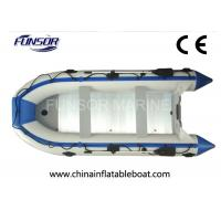 6 Person Pontoon Foldable Inflatable Boat With Separated Chamber Manufactures