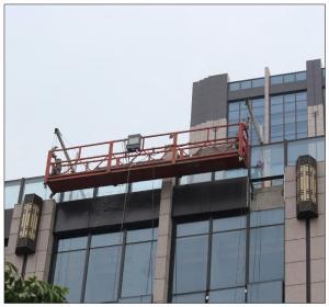 Construction building repair Indonesia galvanized steel ZLP630 temporary gondola for sale Manufactures