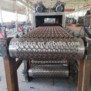 Mesh Belt Stone Cleaning Shot Blasting Equipment Pass Through Abrasive Blasting Equipment Manufactures