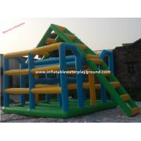 WaterParkGames Inflatable Jungle With Reinforced Strips , Durable PVC Tarpaulin Manufactures