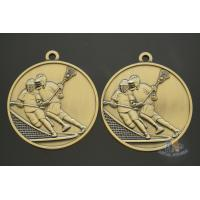 Buy cheap Bespoke Hockey Sports Award Medals, Die Casting 3D Model Effect Antique Gold from wholesalers