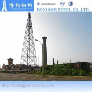 China Steel Tubular Pole Telecommunication Tower on sale