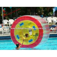 Kids Inflatable Water Roller / Inflatable Aqua Roller Floating On Water Manufactures