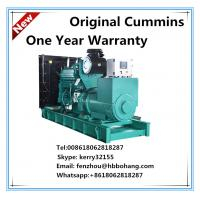 Factory! Electric Start Cummins soundproof Diesel Generator 500 KVA for sale Manufactures