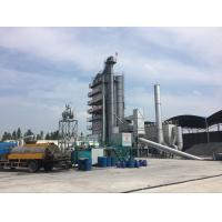 China Galvalume Plate Covering Asphalt Mixing Plant , Bitumen Production Plant Tower 2.40MG / M3 on sale