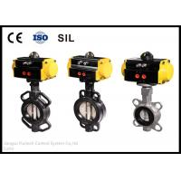 Casting High Cycle Butterfly Valve Actuator Industrial Automation Leaders Manufactures