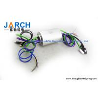 China IP54 Power / signal through bore slip ring RJ45 / USB Connector on sale