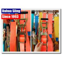China Heavy Duty Tire Tie Down Ratchet Straps , Load Securing Straps With Ratchet on sale