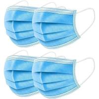 Breathable 3 Ply Disposable Face Mask For Anti Droplet / Particulate / Bacteria Manufactures
