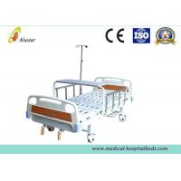 Quality ABS Head 2 Crank Clinical Best Bed Medical Hospital Beds I.VPole (ALS-M234) for sale