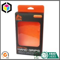 Lamination Matte Color Printing Paper Box with Clear Plastic Window Hanging Tab Manufactures