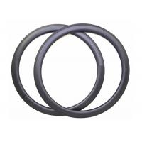 Shiny / Matte Finishing Carbon Road Bike Rims 700C 23MM Width Clincher / Tubeless Manufactures