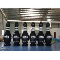 Buy cheap Customized Ourdoor Inflatable Sports Games , Airtight Human Bowling Ball from wholesalers