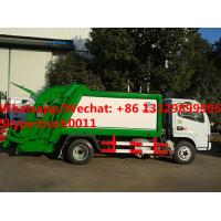 Quality 2017s best seller-dongfeng LHD/RHD 4tons compression garbage truck for sale, Factory customized refuse garbage truck for sale
