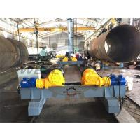 20 Ton PU Welding Turning Rolls Welding rotator 100-1000mm / min Manufactures
