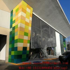 oem aluminum decorative expandable sheet metal architectural mesh Manufactures