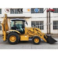 Compact Front And Backhoe Loader Integral Chassis 2.5 Ton 100hp SAM388 Manufactures