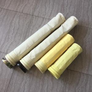 450gsm  Nomex 501 needle punched dust filter bag for asphalt bag filter use Manufactures