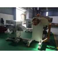 Quality Stainless Steel Uncoiler,Straightener, NC Servo Feeder,3 In 1 Machine With Delta Touch Screen for sale