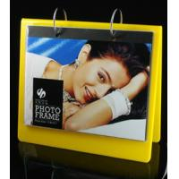 calender style acrylic block photo frame yellow Manufactures