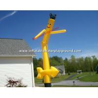 Durable Rip Stop Nylon Advertising Wacky Waving Inflatable Tube Man With Arrow Manufactures