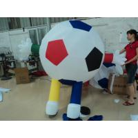 Promotional Inflatable Football Carton  / Inflatable Advertising Products Manufactures