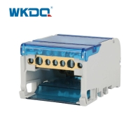 Compact 4 Pole Power Distribution Block Box UK 407 Customized Logo Available Manufactures