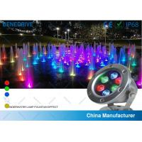 3W LED Underwater Decorative Lights , Waterpoof Pool Lights Life Span > 50000 Hours Manufactures