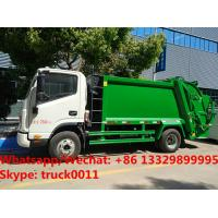 2018s high quality China JAC brand 4*2 LHD diesel 5m3 garbage compactor truck for sale, refuse garbage truck for sale Manufactures