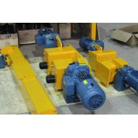 Open Gear End Carriage Bridge Crane End Trucks With 45# 42Cr 42CrMn Material Manufactures