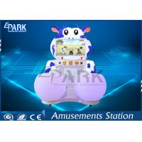 Ben Ben Cow Kids Coin Operated Game Machine With Luxury Plastic Light Box Manufactures