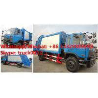 Quality Wholesale bottom price customized dongfeng 4*2 RHD 190hp Euro 3 14m3 compression for sale
