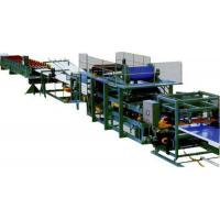 Colored Steel Continuous Sandwich Panel Production Line With 5 Tons Capacity Manufactures