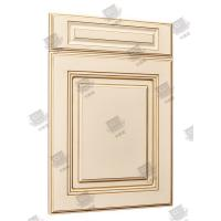 Quality Multi Color Solid Core Molded Doors , Melamine Engineered Wood Doors for sale
