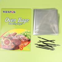 Microwvable PET Plastic Oven Cooking Bags Bread Roastting Bags Manufactures